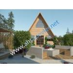BUNGALOV - AHŞAP OTEL - 45 m2 - SAPANCA